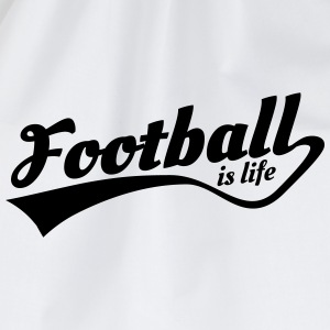 football is life 5 T-shirts - Gymnastikpåse