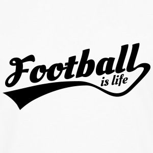 football is life 5 Pullover & Hoodies - Männer Premium Langarmshirt