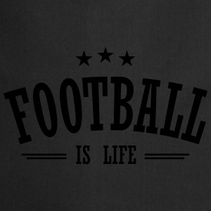 football is life 3 Tops - Cooking Apron