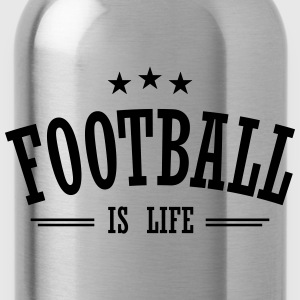 football is life 3 Tops - Water Bottle