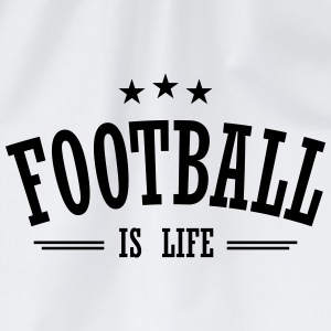 football is life 3 T-shirts - Gymnastikpåse