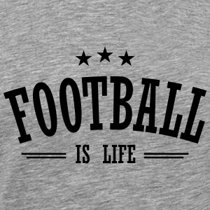 football is life 3 Long Sleeve Shirts - Men's Premium T-Shirt