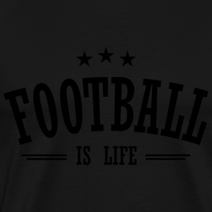 football is life 3 Gensere - Premium T-skjorte for menn