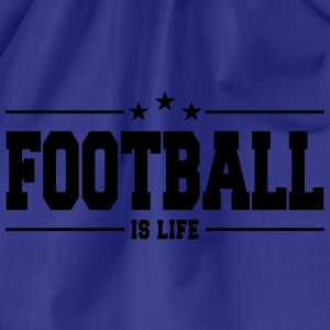 football is life 1 Magliette - Sacca sportiva