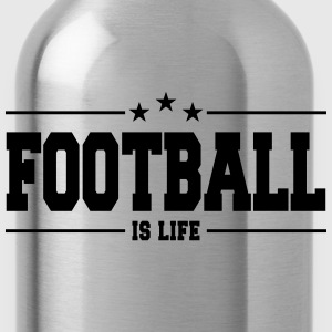 football is life 1 Pullover & Hoodies - Trinkflasche