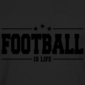 football is life 1 Pullover & Hoodies - Männer Premium Langarmshirt