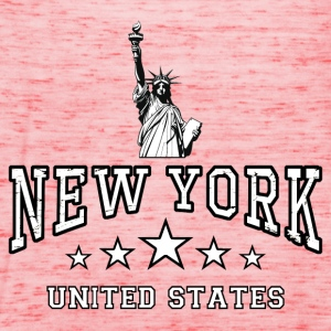 new york - united states Shirts - Women's Tank Top by Bella
