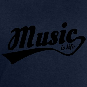 music is life Tee shirts - Sweat-shirt Homme Stanley & Stella