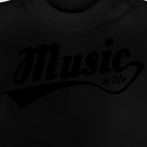 music is life Sweats - T-shirt Bébé