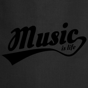 music is life Shirts - Cooking Apron