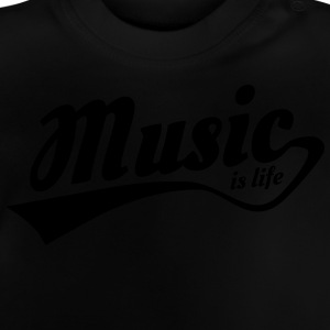music is life T-shirts - Baby T-shirt