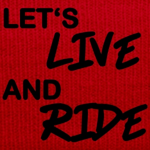 Let's live and ride T-shirts - Winterhue