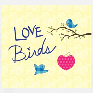 Love birds - Männer Premium T-Shirt