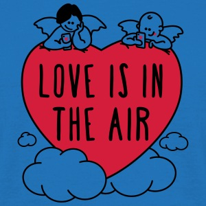 valentine - love is in the air 2c - Männer T-Shirt
