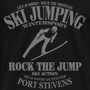 ski jumping - ski flying Tabliers - T-shirt Premium Homme