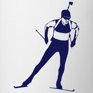 Biathlon - cross country skiing - skiing Tabliers - Tasse