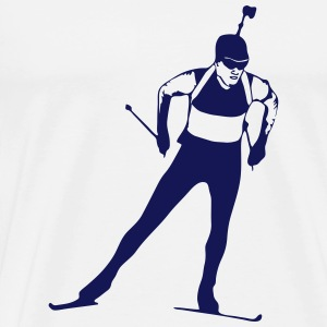 Biathlon - cross country skiing - skiing - ski Underwear - Men's Premium T-Shirt