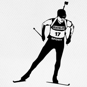 Biathlon - cross country skiing - skiing - ski  Aprons - Baseball Cap
