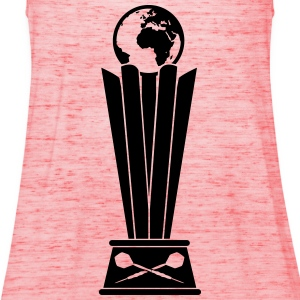 Darts World Championship Trophy T-shirts - Vrouwen tank top van Bella