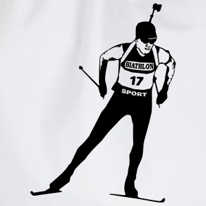 Biathlon - cross country skiing - skiing - ski Underwear - Drawstring Bag