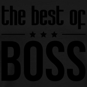The Best of Boss Tabliers - T-shirt Premium Homme