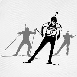 Biathlon - cross country skiing - skiing - ski T-Shirts - Baseball Cap