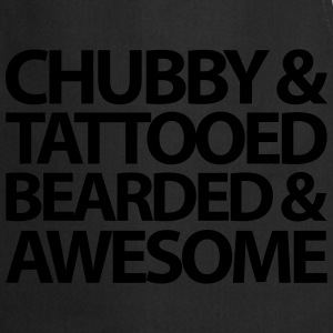 Chubby, Tattooed, Bearded  Hoodies & Sweatshirts - Cooking Apron