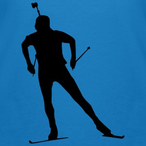 Biathlon - cross country skiing - skiing - ski Hoodies & Sweatshirts - Men's Organic T-shirt