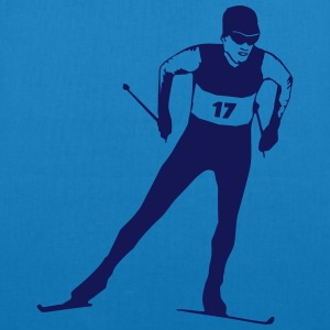 cross country skiing - skiing - ski Hoodies & Sweatshirts - EarthPositive Tote Bag