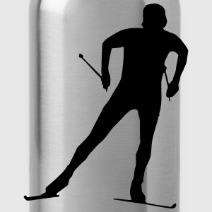 cross country skiing - skiing - ski Long sleeve shirts - Water Bottle