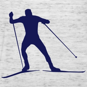 cross country skiing - skiing - ski T-Shirts - Women's Tank Top by Bella