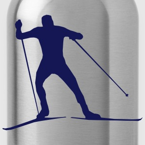 cross country skiing - skiing - ski T-Shirts - Water Bottle