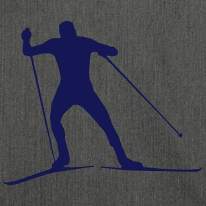 cross country skiing - skiing - ski T-Shirts - Shoulder Bag made from recycled material