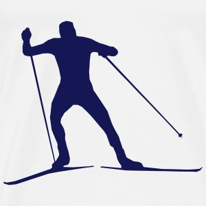 cross country skiing - skiing - ski Hoodies & Sweatshirts - Men's Premium T-Shirt