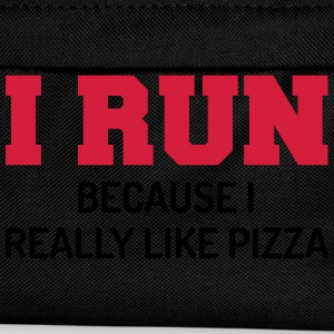 I Run Pizza T-Shirts - Kids' Backpack