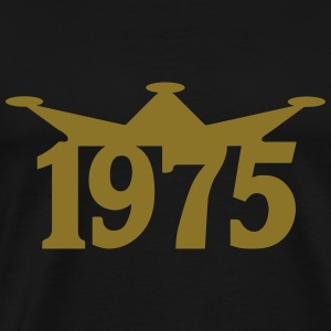 1975_crown Hoodies & Sweatshirts - Men's Premium T-Shirt