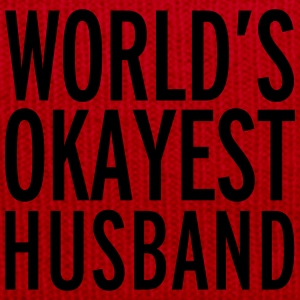 World's Okayest Husband  Tröjor - Vintermössa