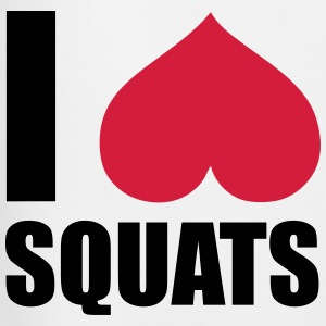 I Love Squats T-shirts - Mannen voetbal shorts