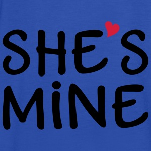 She's Mine I love you my Girlfriend Ich liebe Dich Pullover & Hoodies - Frauen Tank Top von Bella