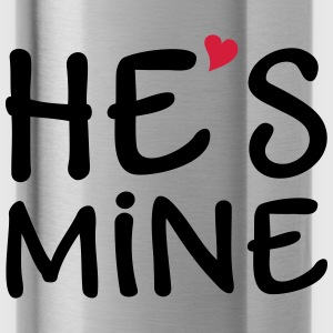 He's Mine I love you my Boyfriend Ik hou van jou Sweaters - Drinkfles