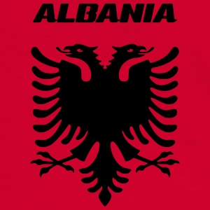 ALBANIA - Men's Ringer Shirt