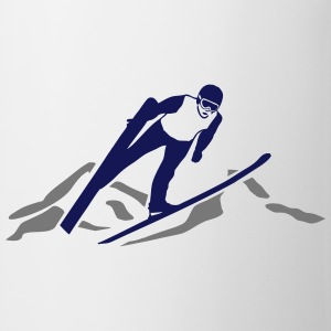 ski jumping - ski flying Tee shirts - Tasse