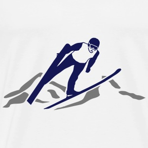 ski jumping - ski flying Sweat-shirts - T-shirt Premium Homme