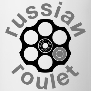 Russian Roulette T-shirts - Kop/krus