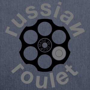 Russian Roulette T-shirts - Skuldertaske af recycling-material