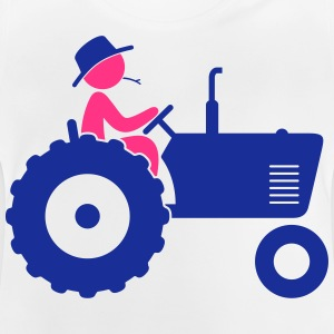 Farmer on tractor Shirts - Baby T-Shirt