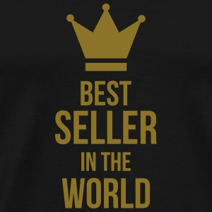 Best Seller in the World Muggar & tillbehör - Premium-T-shirt herr