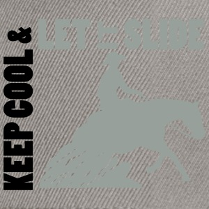 Keep cool --slide Reining Sweat-shirts - Casquette snapback