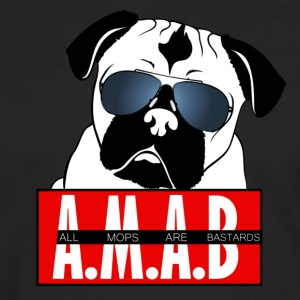 All Mops Are Bastards Sunglasses T-Shirts - Männer Premium Langarmshirt