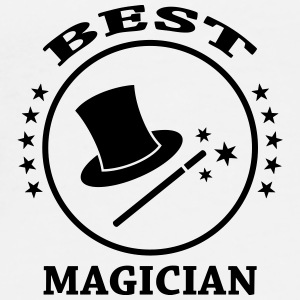 Best Magician Caps & Hats - Men's Premium T-Shirt